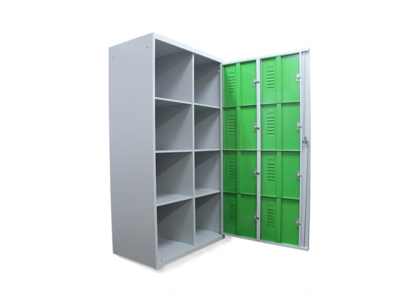 Armoire à casiers scolaires visitables