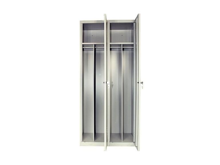 Armoire vestiaire industrie salissante 2 portes