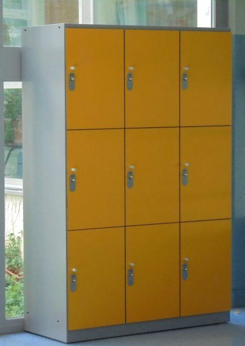Vestiaire multicases large 9 casiers