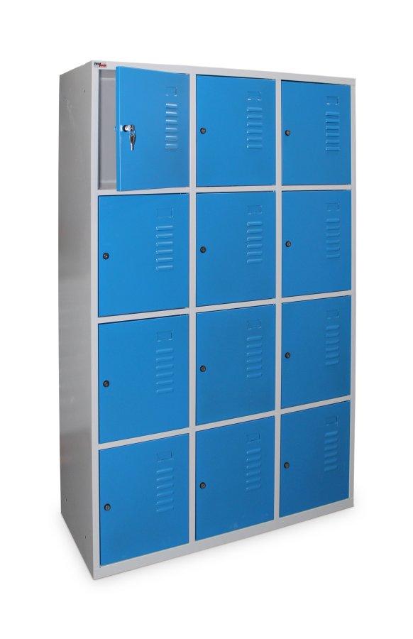 Vestiaire multicases large 12 casiers