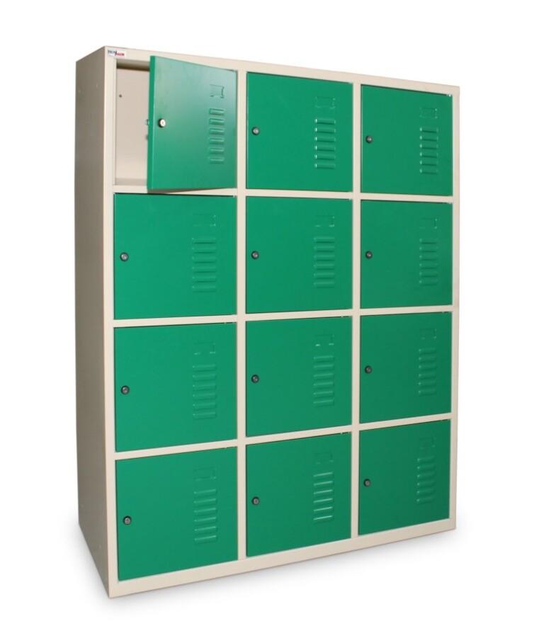 Multicases larges sur mesure - 12 casiers