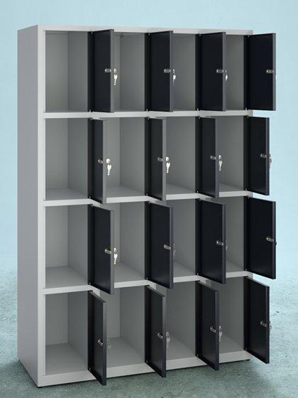 Armoire à casiers 16 cases