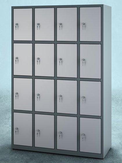 Vestiaire multicases 16 casiers L120cm