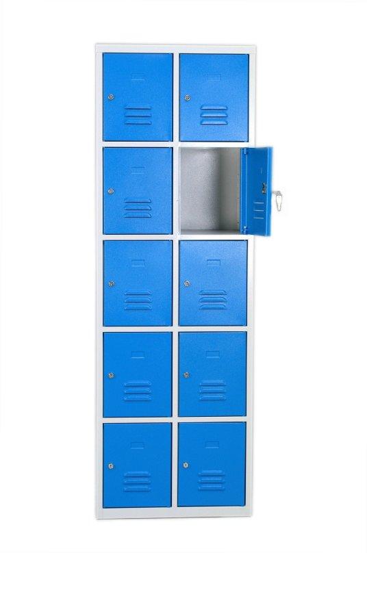 Armoire à casiers - 10 cases