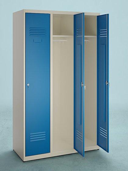 Armoire vestiaire industrie propre 3 cases